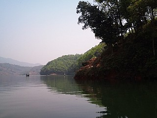 View of Begnas Lake