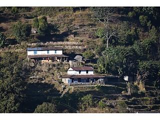 Houses on way to Australian Camp