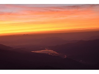 Sunrise over Pokhara Valley