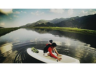 Amazing SUP in Pokhara Nepal