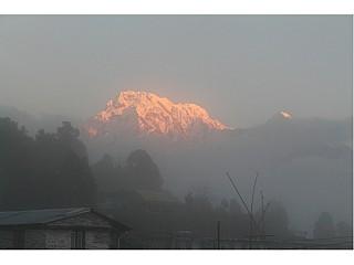 Blazing Annapurna