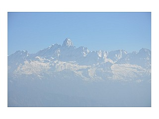Breathe-taking view of Himalaya