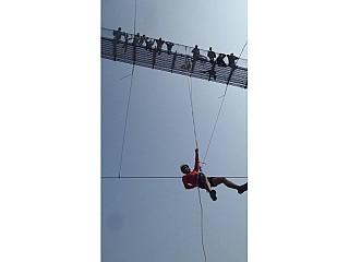 Bridge Swing at Nepal