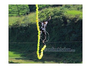 Bungy now in Pokhara