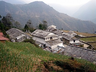 Day 3 | Gandruk is a beautiful Gurung settlement which retains much of it character