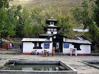 Day 6 | Muktinath Temple marks the end of the Journey. But if you have energy left in you can trek through oasis of Kagbeni to Jomsom on the next day