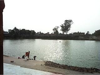 Dhanus Sagar (Holy Pond) in Janakpur
