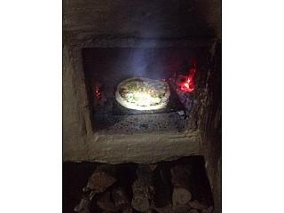 Firewood Pizza. Yum.