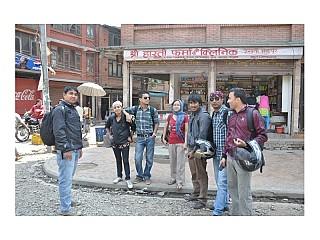 Gathering at Jagati Bhaktapur