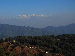 Mountain Range viewed from Everest Panorama Resort Daman