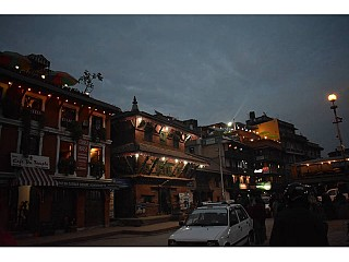 Patan Durbar Square in the Evening