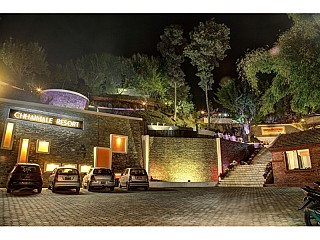 Places to visit during New year in Nepal. Picture from Chhaimale resort