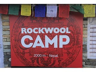 Rockwool Camp for Camping
