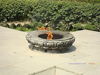 Shanti Deep: The eternal flame @ Lumbini