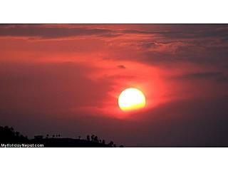 Sunset@Tokha, Kathmandu, Nepal