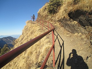 Up the hill to Kalinchowk