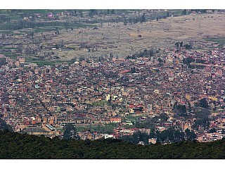 View of Bhaktapur from Gundu