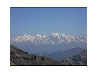 View of Mountain Range