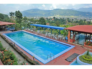 khusi khusi swimming pool with beautiful view