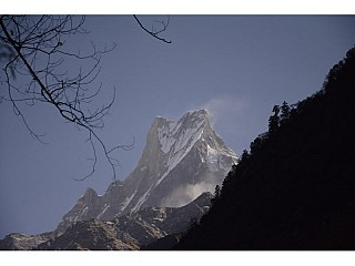 Machapuchre(Fishtail) During Annapurna Trekking