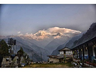 Landruk Village in Annapurna Region