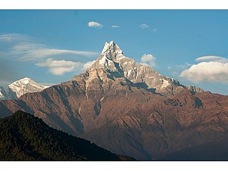 Machhapuchre from Dhampus