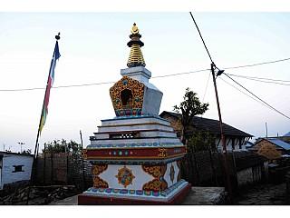 A monastery in Pasagaun