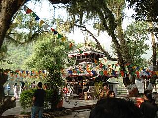 Barahi Temple at fewa Lake