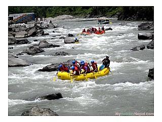Bhote Kosi Rafting