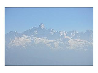 Breathe-taking view of Himalaya