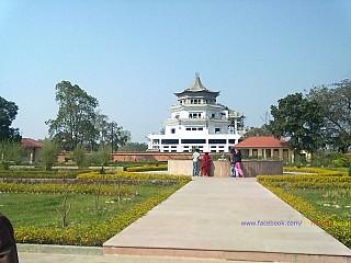 Buddhist Monastries under construction