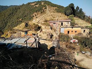 Chakhel Deurali view