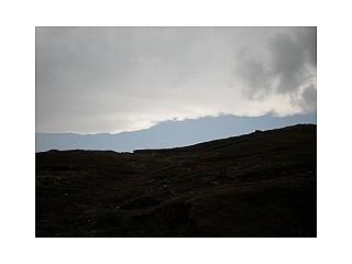 Cloudy condition at Kala Pathari