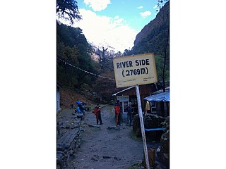Day 3: Early Morning Trekking at entering Riverside Langtang