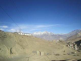 Dhaulagiri Himalayan range seen from Muktinath