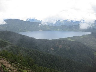 First view of Rara Lake