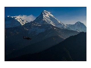 Flight from Jomsom to Pokhara