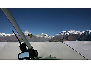Flight over Everest