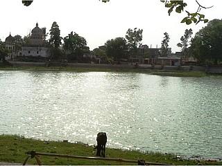 Ganga Sagar (Holy pond) of Janakpur