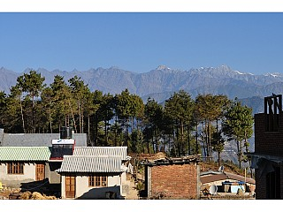Good view of Mountain from Chisapani
