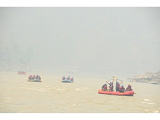 Had an Amazing Rafting at Nepal