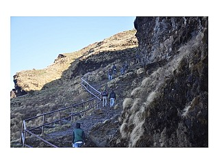 Hilly way to Kalinchowk Temple