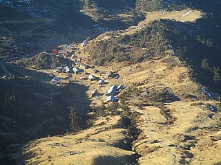 Kuri Village from Kaalinchowk