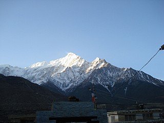 Manaslu Himalayan Range seen from Jomsom
