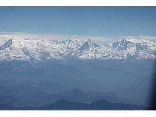 My First Click capturing Entire Annapurna Himalayan Range