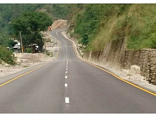New Road Construction from Mugling  to chitwan has been completed on June 2018.