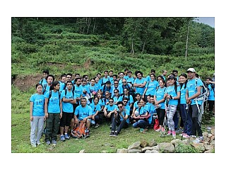 Participants of the Hiking
