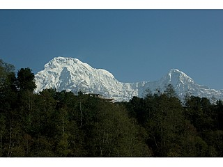 Perfect view of Annapurna I
