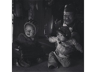 Prashem and his brother gurung family homestay