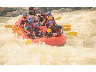 Rafting and Camping in Nepal